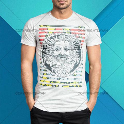 خرید تی شرت مردانه طرح انیشتین