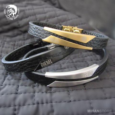 خرید دستبند چرم دیزل