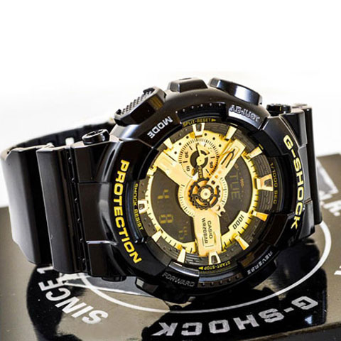 خرید ساعت مچی دو زمانه کاسیو جی شاک GA-110