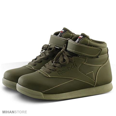 خرید کفش دخترانه ساق دار ریباک Reebok مدل سبز Green