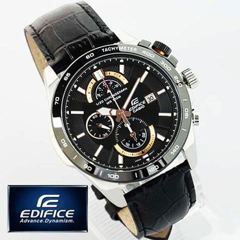 خرید ساعت مچی بند چرم کاسیو Casio مدل EFR-520