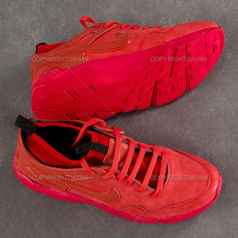 خرید کفش مردانه نایک Nike مدل فاروکس Farux رنگ قرمز