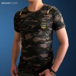 خرید تی شرت مردانه ارتشی زیپر Zipper