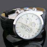 خرید ساعت مچی بند چرم تیسوت Tissot T1853